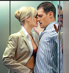 Sesso in ascensore